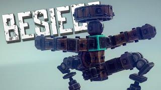 KUNG FU ROBOT - Besiege Alpha Sandbox