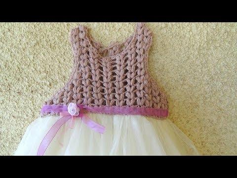 717fd8a2fd5 Πλεκτο Παιδικο Φορεματακι (μερος 1ο) | FunnyCat.TV