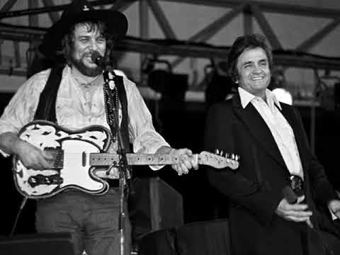 I'm Moving On by Waylon Jennings and Johnny Cash from Cash's album Out Among The Stars.