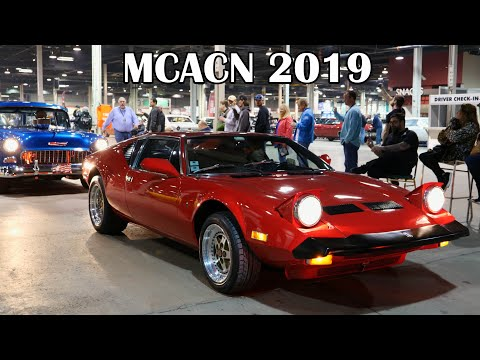 Cars Leaving The 2019 Muscle Car and Corvette Nationals Show (MCACN) 2019