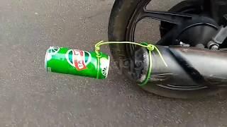 KTM Exhaust in Honda dream neo. Must watch