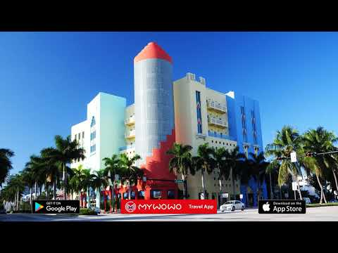 Ocean Drive – Art Deco District – Miami – Audio guide – MyWoWo Travel App
