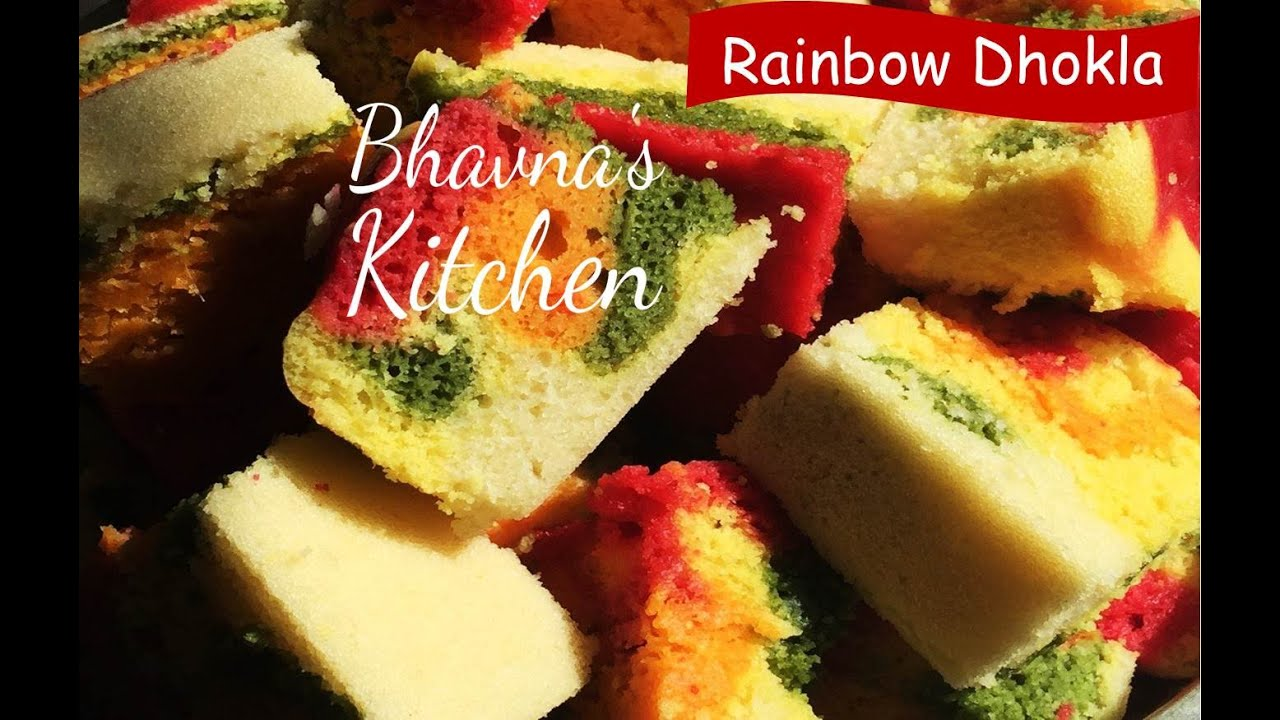 Rainbow dhokla video recipe with natural food colors step by step rainbow dhokla video recipe with natural food colors step by step rainbow dhokla recipe youtube forumfinder Images