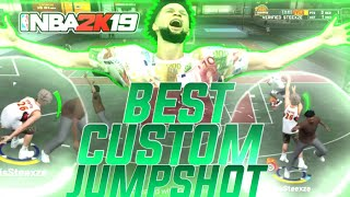 BEST CUSTOM JUMPSHOT 100% GREEN LIGHT JUMPSHOT NBA 2K19 BEST CUSTOM JUMPSHOT FOR ALL ARCHETYPES