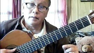 SOLO không cần Tab, Nốt Nhạc - BOLERO (Bao Hoang Guitar)