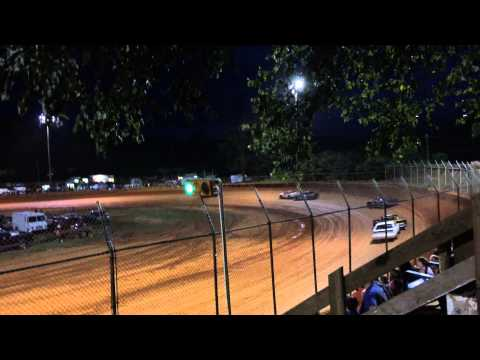 Racing at Harris Speedway Forest City, NC July 5 2015 1