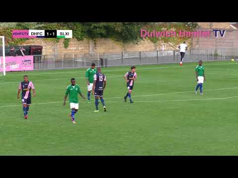 Dulwich Hamlet 1-1 Sierra Leonean UK Allstars, Charity Match, 17/09/17 | Match Highlights