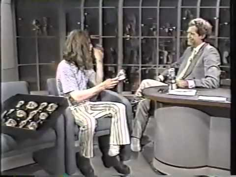 Crispin Glover on Letterman   1st Appearance   Full clip, good quality