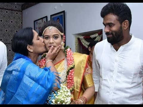 Paritala Sunitha Daughter Sneha Latha Marriage || Political Leaders, Tollywood Actors