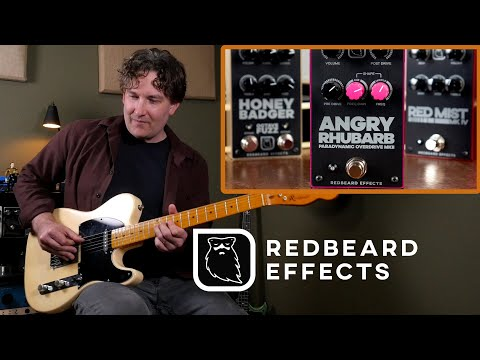 Redbeard Effects Overview Feat. Angry Rhubarb Paradynamic Overdrive MKII