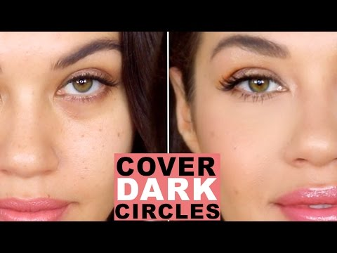 How To Cover Dark Circles and Bags Under Eyes