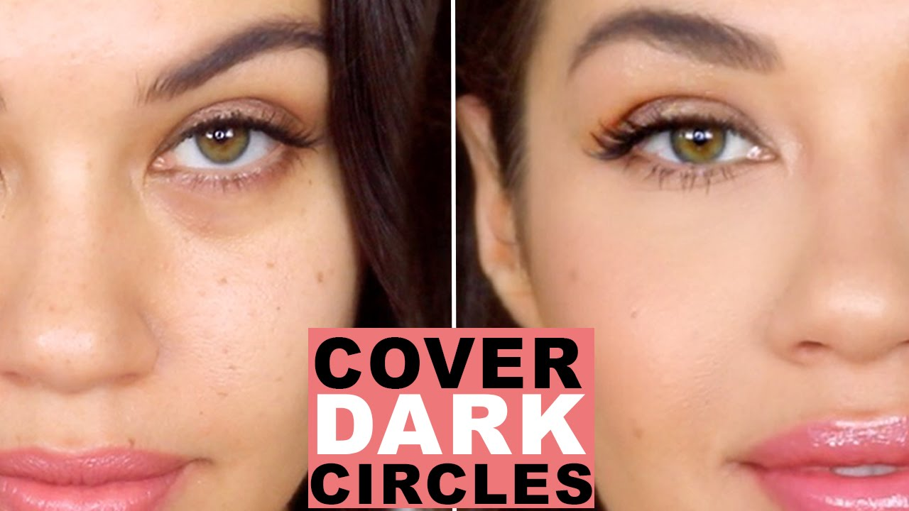 How To Cover Dark Circles and Bags Under Eyes  How to Color Correct  Eman