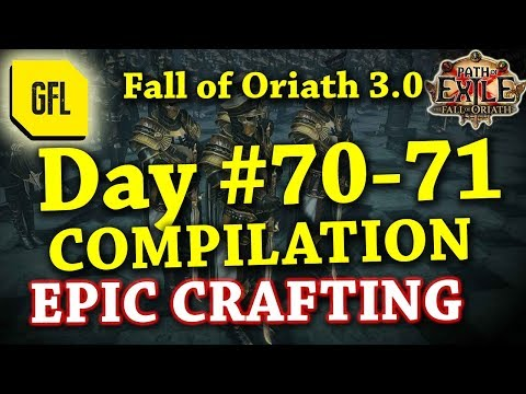 Path of Exile 3.0 Fall of Oriath: DAY #70-71 Compilation and Highlights from Youtube and Twitch