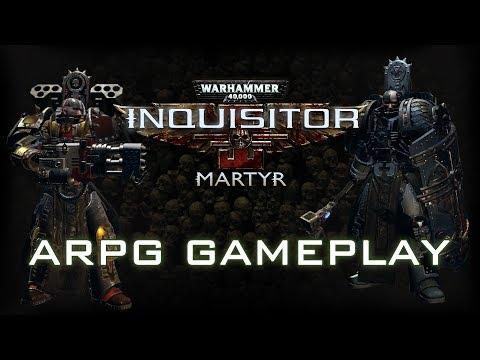 W40K: Inquisitor - Martyr   ARPG Gameplay Trailer