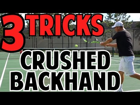 Crush Your Tennis Backhand with These 3 Tricks