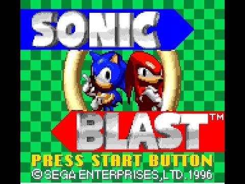 Game Gear Longplay [033] Sonic Blast