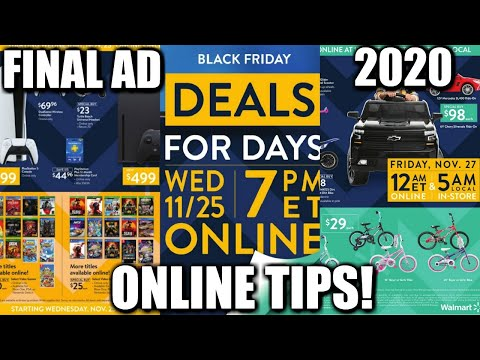 WALMART BLACK FRIDAY DEALS 2020! FINAL AD! ONLINE TIPS! NICOLE BURGESS
