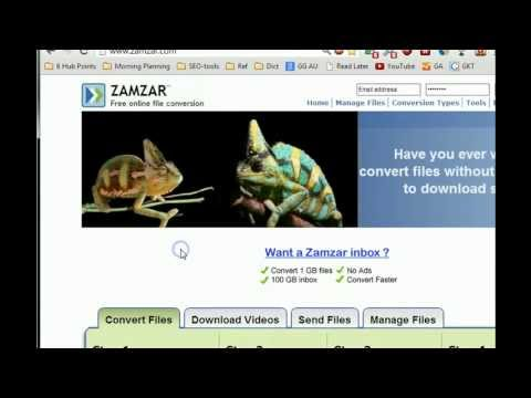 How to Convert PDF to Word Using Zamzar   vHow net: The Tech