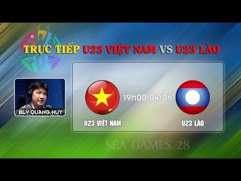 Tường thuật trực tiếp  bóng đá Việt Nam gặp Lào 4/6/2015 Full HD