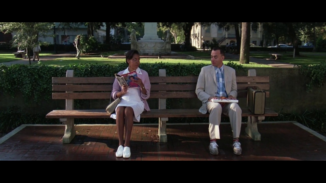 Those Must Be Comfortable Shoes Forrest Gump 1994 Movie Clip Hd Scene Youtube