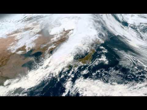 Earth From Space - Oct 27, 2015: Japan, Korea, Beijing & Shanghai