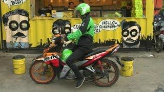 Ứng dụng công nghệ cho lái xe ôm ở Indonesia
