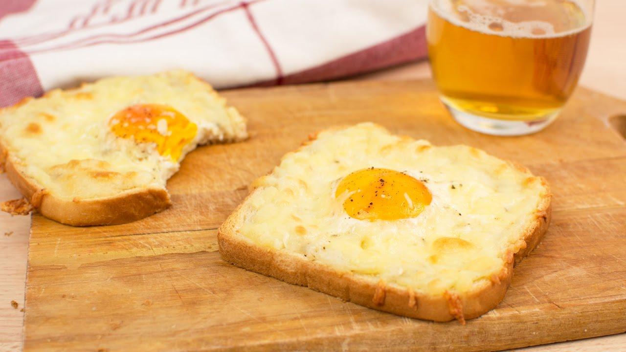Qué rico! Tostadas con huevo y queso