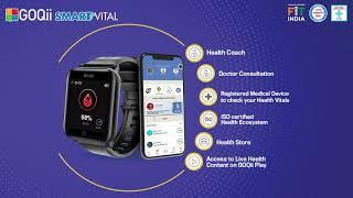 Home Quarantine with GOQii Smart Vital; A CDSCO Registered Medical Device screenshot 3