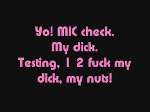 Throw your dick lyrics
