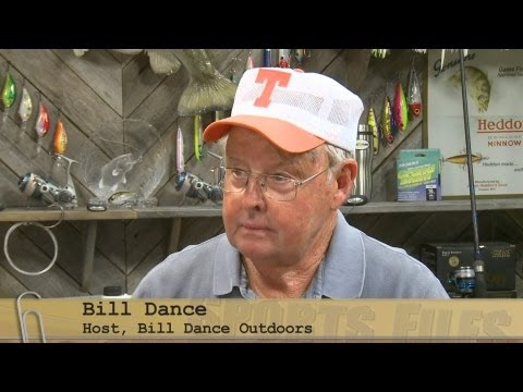 Sports Files August 22, 2013 — Famed Fisherman Bill Dance