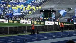 DFB Pokalfinale 2011 Einlauf der Mannschaften MSV Duisburg - Schalke 04