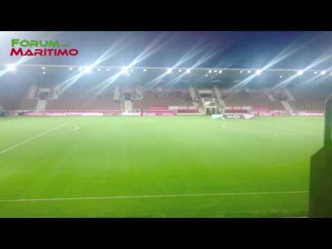Estreia Bancada Central, Estádio do CS Marítimo!