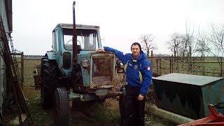 МТЗ-50 мини обзор рабочего трактора. MTZ-50 mini view. мтз 50