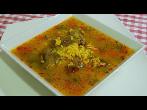 Receta fácil de arroz caldoso con costillas adobadas