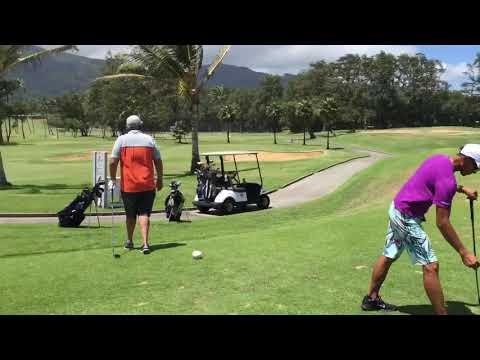 Waiehu golf club in Maui! Edgar Mesina.