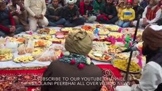 HAZRAT SHAH MOHAMMED SAQLAIN MIYAN HUZOOR AT FATEHA IN  FARIDPUR U.P. India