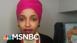 Rep. Omar Says Republicans Who Enabled Trump 'Have Blood On Their Hands' | All In | MSNBC