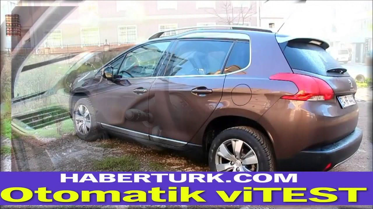 peugeot 2008 otomatik test sürüşü - youtube