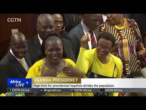 Age limit for presidential hopefuls divides the Uganda population