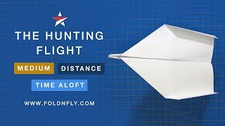 Fold 'N Fly ✈ Hunting Flight Paper Airplane