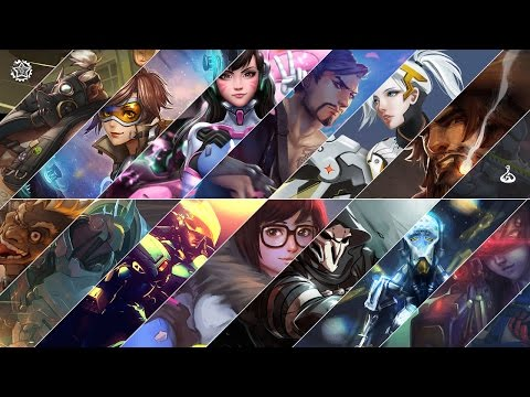 If Overwatch characters had theme songs HD