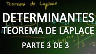 Determinantes (parte 3) - Teorema de Laplace