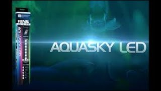 HOW TO use Fluvals Aquasky LED Skypad remote