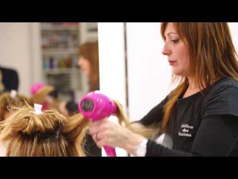 Cap coiffure le brushing doovi - Comment faire un brushing ...