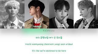 Wanna One Destiny Intro. Color Coded Lyrics Eng Rom Han.mp3