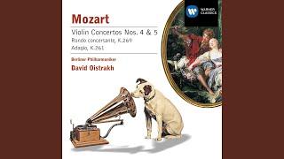 Violin Concerto No. 4 in D K218 (cadenzas by Ferdinand David) : II. Andante cantabile
