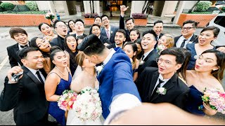 James and Bea  | Onsite Wedding Photos | Luxent Hotel | Our Lady of Mount Carmel | Oasis Manila