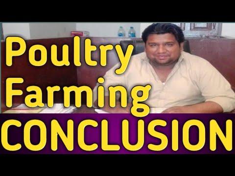 Poultry Farming - The Conclusion