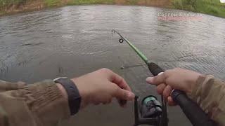 Рыбалка на Мокше 2 часа на донку мелочь 0611