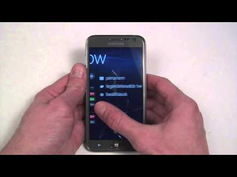 Samsung ATIV S I8750 hands-on and unboxing
